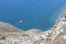 The ocean in Oia